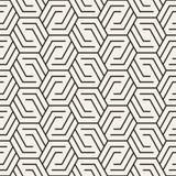 Vector naadloos patroon Moderne modieuze abstracte textuur Geometrisch herhalen vector illustratie