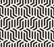 Vector naadloos patroon Moderne modieuze abstracte textuur Het herhalen van geometrische tegels stock illustratie