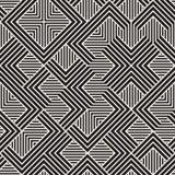 Vector naadloos patroon Moderne modieuze abstracte textuur Het herhalen van geometrische tegels vector illustratie