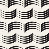 Vector naadloos patroon Moderne modieuze abstracte textuur Het herhalen van geometrische tilesn Stock Foto's