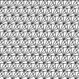 Vector naadloos patroon moderne modieuze textuur Het herhalen van geometrische tegels van gestreepte driehoeken Achtergrond voor  vector illustratie
