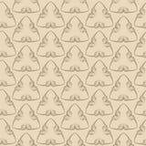 Vector naadloos patroon Moderne textuur Het herhalen van geometrische til Royalty-vrije Stock Foto
