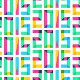 Vector naadloos patroon, Nieuwjaar 2015 Stock Fotografie