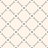 Vector naadloos patroon in oosterse stijl Diagonaal rooster Royalty-vrije Stock Foto
