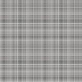 Vector naadloos patroon Pastelkleur geruite achtergrond in grijze kleuren, de steekproeventextuur van het stoffenmonster Royalty-vrije Stock Fotografie