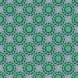 Vector naadloos patroon plantaardig ornament royalty-vrije illustratie