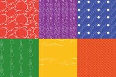 Vector naadloos patroon Textuur Royalty-vrije Stock Afbeeldingen