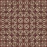 Vector naadloos patroon van abstracte cirkel royalty-vrije illustratie