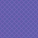 Vector naadloos patroon van abstracte geometrische bloemblaadjes royalty-vrije illustratie