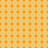 Vector naadloos patroon van abstracte sterren, groot voor textiel of achtergrond royalty-vrije illustratie