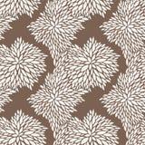 Vector Naadloos Patroon van Bladeren Royalty-vrije Stock Foto's