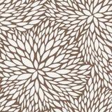 Vector Naadloos Patroon van Bladeren Royalty-vrije Stock Afbeelding