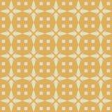 Vector naadloos patroon van decoratieve abstracte sterren stock illustratie