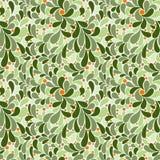 Vector naadloos patroon van gestileerde bloemblaadjes Royalty-vrije Stock Afbeeldingen