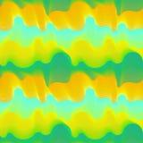 Vector naadloos patroon van golvend Stock Afbeeldingen