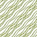 Vector naadloos patroon van golvende lijnen Royalty-vrije Stock Fotografie
