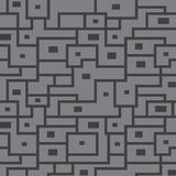 Vector naadloos patroon van grijze lijnen Royalty-vrije Stock Foto's