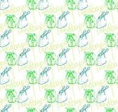 Vector naadloos patroon van handtassen Stock Fotografie