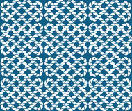 Vector naadloos patroon van kabels Royalty-vrije Stock Foto's