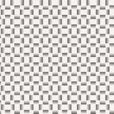 Vector naadloos patroon van lijnen Stock Foto