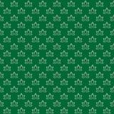 Vector naadloos patroon van minimalistische abstracte bloemblaadjes royalty-vrije illustratie