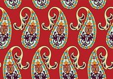 Vector naadloos patroon voor ontwerpmalplaatje Uitstekend overladen decor Oostelijk stijlelement Luxe oosterse decoratie Stock Fotografie