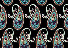 Vector naadloos patroon voor ontwerpmalplaatje Uitstekend overladen decor Oostelijk stijlelement Luxe oosterse decoratie Stock Afbeeldingen