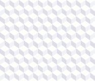 Vector naadloos patroon Witte 3d achtergrond stock illustratie