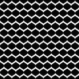 Vector naadloos patroon, zwart-wit netwerk, zwarte & wit Stock Fotografie