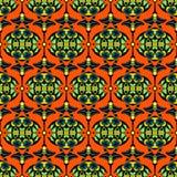 Vector naadloos patroondamast Stock Foto's