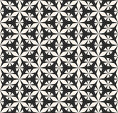 Vector naadloos patroonornament, geometrische textuur Elegante mon Stock Foto