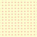 Vector naadloos retro patroon, harten Kan voor behang worden gebruikt, vult, gift het verpakken, camphletverpakking, tekening, We Stock Foto's