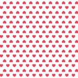 Vector naadloos retro patroon, harten Kan voor behang worden gebruikt, vult, verpakking van kantines, tekening, achtergrond van Royalty-vrije Stock Fotografie