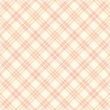 Vector naadloos roze plaidpatroon De eindeloze achtergrond van het textuur abstracte geometrische ornament Royalty-vrije Stock Afbeeldingen