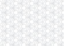 Vector Naadloos Subtiel Patroon Moderne modieuze abstracte textuur Het herhalen van geometrische tegels van gestreepte elementen Stock Afbeeldingen