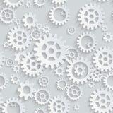 Vector naadloos toestellenpatroon Stock Afbeeldingen
