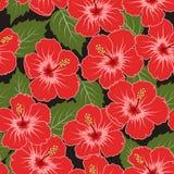 Vector naadloos tropisch patroon royalty-vrije stock afbeelding