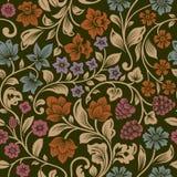 Vector naadloos uitstekend bloemenpatroon. Stock Fotografie
