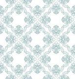 Vector naadloos uitstekend damastpatroon Royalty-vrije Stock Foto