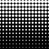 Vector naadloos zwart patroon, Stock Afbeelding