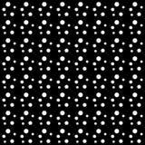 Vector naadloos zwart-wit punten abstract patroon Abstract Behang als achtergrond Vector illustratie Royalty-vrije Stock Afbeeldingen