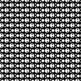 Vector naadloos zwart-wit punten abstract patroon Abstract Behang als achtergrond Vector illustratie Stock Afbeelding