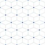 Vector naadloze achtergrond Royalty-vrije Stock Afbeelding