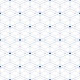 Vector naadloze achtergrond Stock Afbeelding