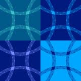 Vector naadloze achtergrond Stock Foto's