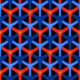 Vector naadloze behangachtergrond Stock Afbeelding
