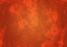 Oranje grungeachtergrond Stock Foto