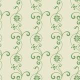 Vector naadloze bloemenachtergrond Stock Foto's