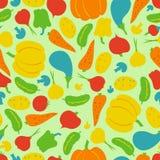 Vector naadloze groenten Royalty-vrije Stock Foto's