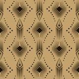 Vector naadloze patroon Moderne modieuze textuur Het herhalen geomet Royalty-vrije Stock Foto